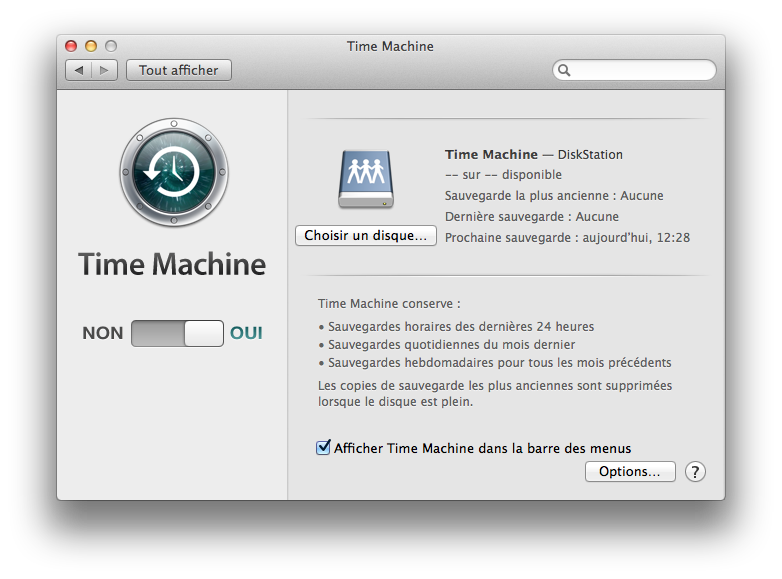 time machine yosemite