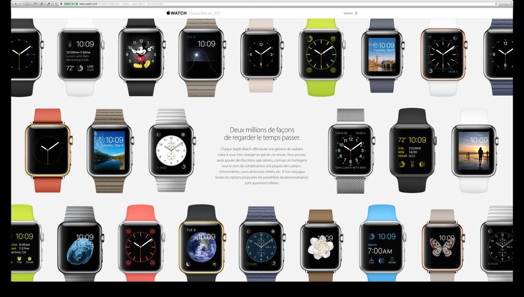 apple watch cadrans