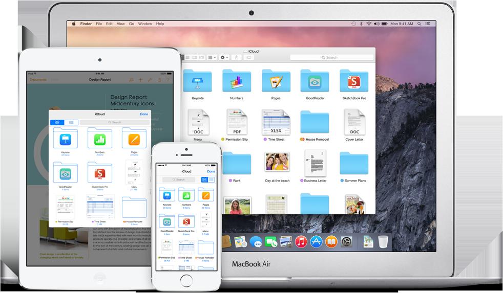 how to edit icloud drive on mac