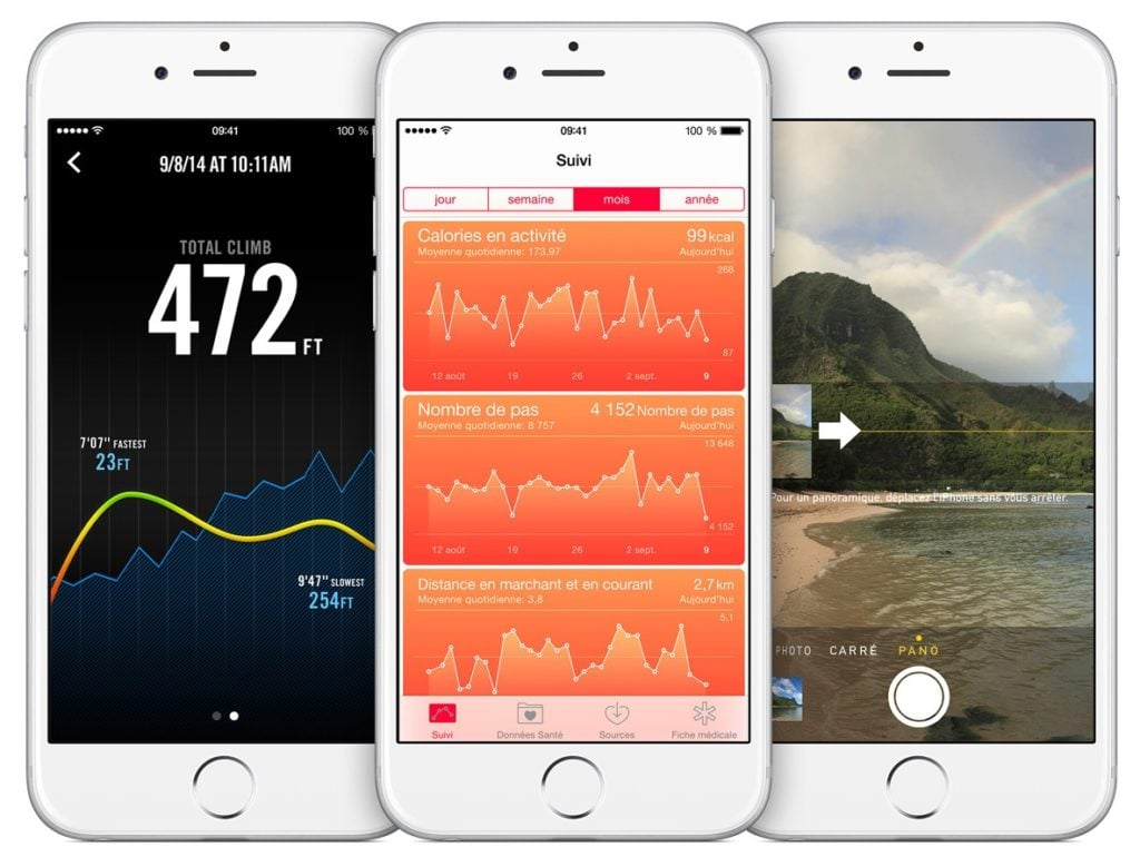 iphone 6 activite