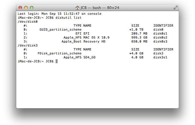 tester la ram de son mac memtest86 diskutil