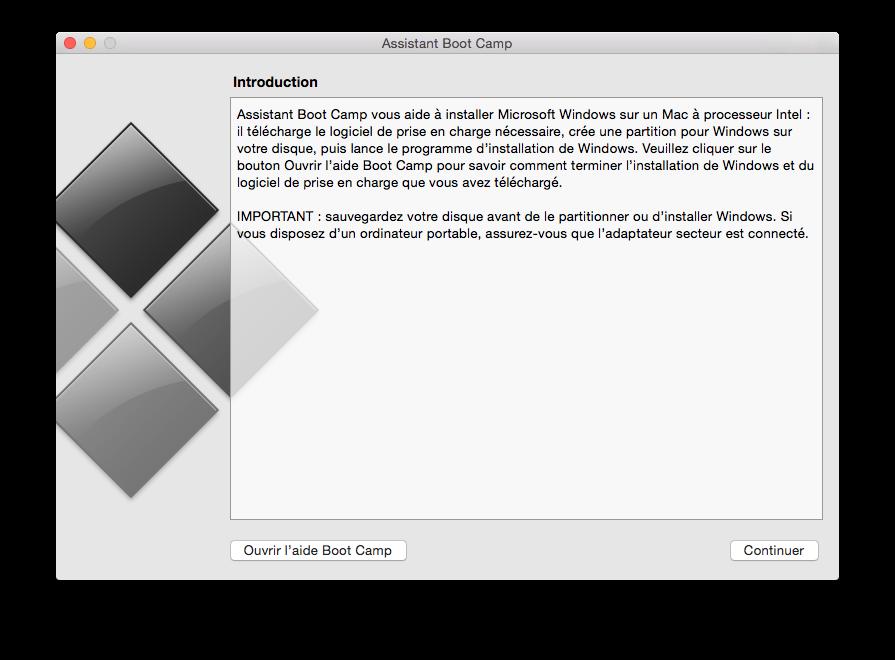 dualt boot mac os x yosemite bootcamp
