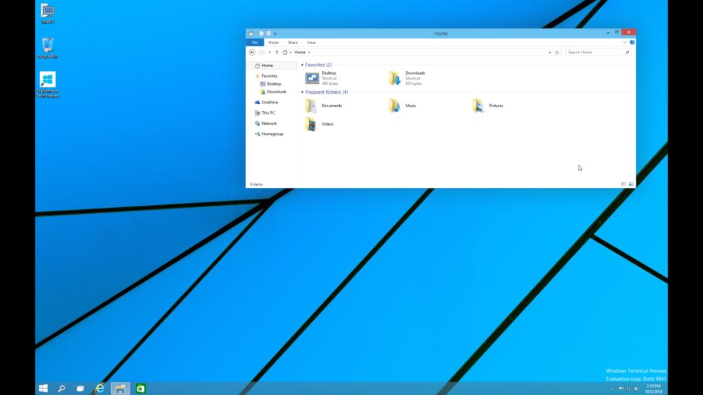 windows 10 sur mac accueil