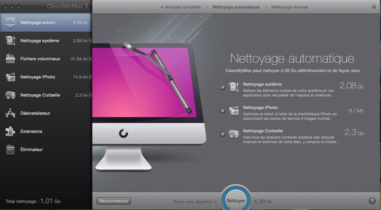 comment nettoyer son mac os x