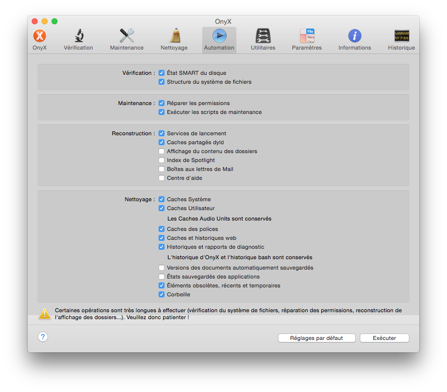 onyx yosemite mac automation