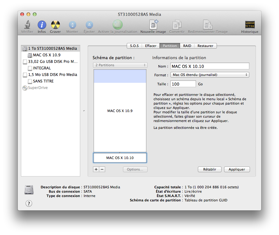 dual-boot-yosemite-mavericks-partition-disque