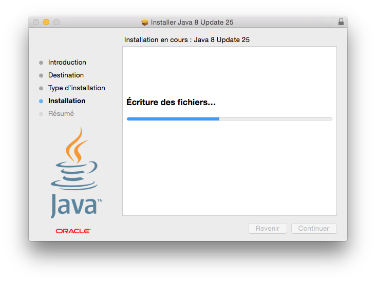 Java yosemite comment l 39 installer os x macplanete for Fenetre java