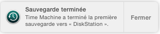 time machine yosemite backup complet