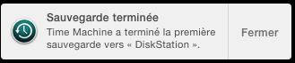 time machine yosemite backup complet