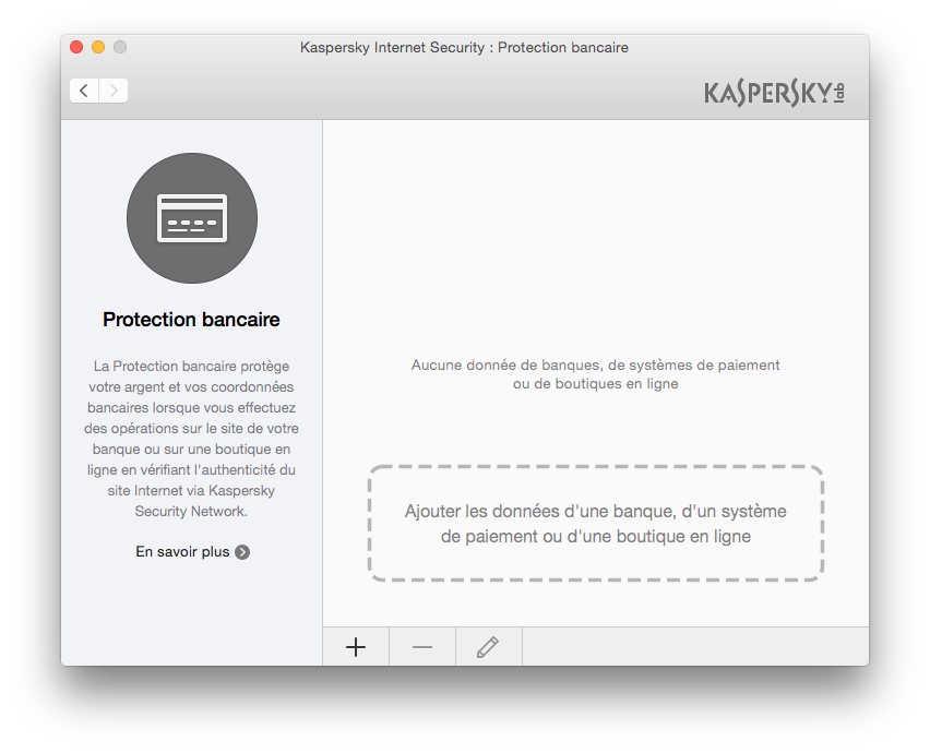 antivirus yosemite protection bancaire