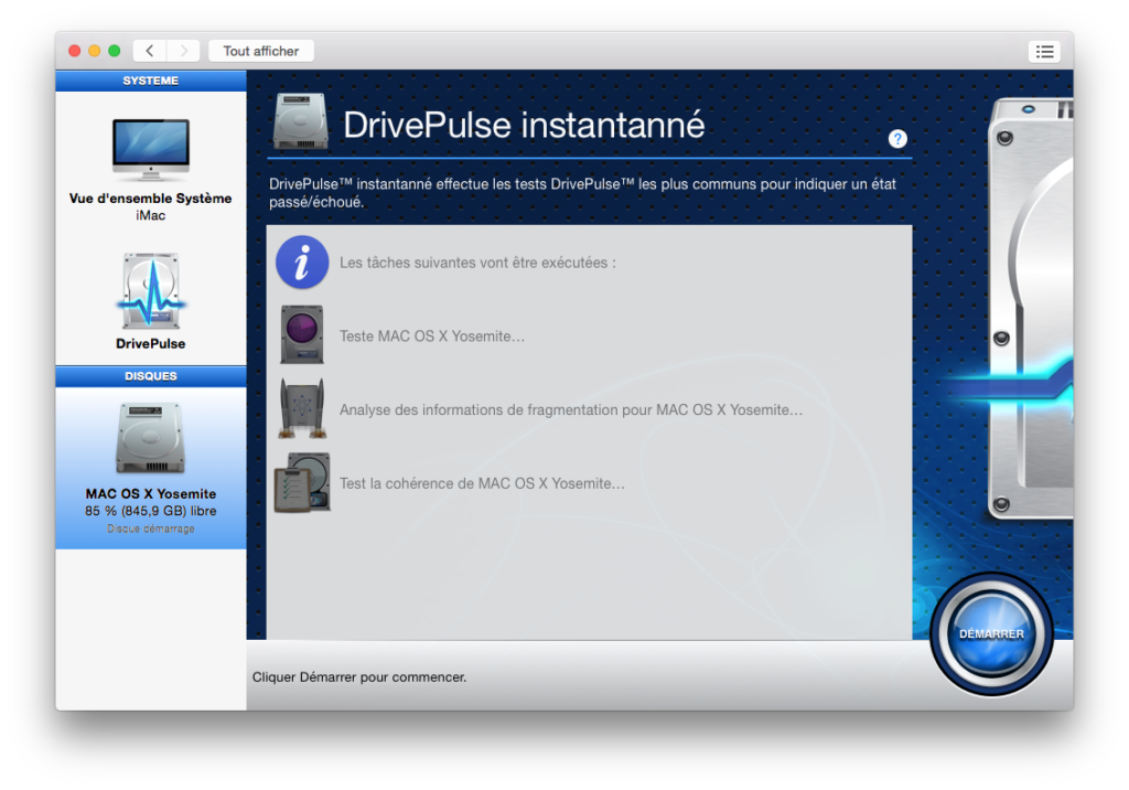 optimiser yosemite drivepulse