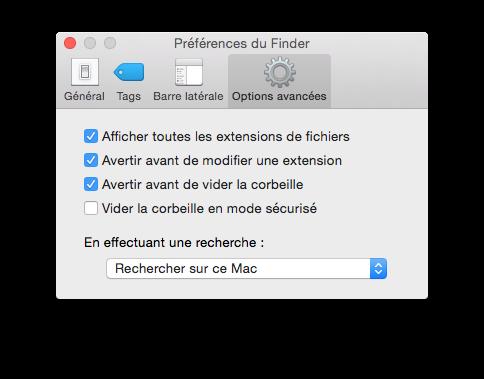 ouvrir un fichier inconnu sur mac avec finder