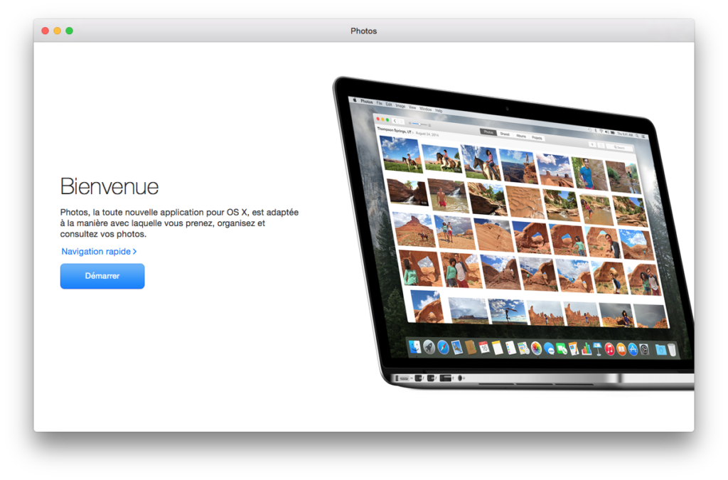 mac os x yosemite 10.10.3 informations app photos