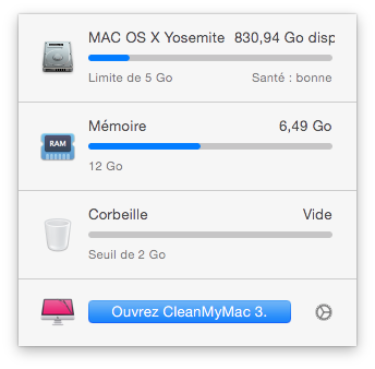 nettoyer mac yosemite os x