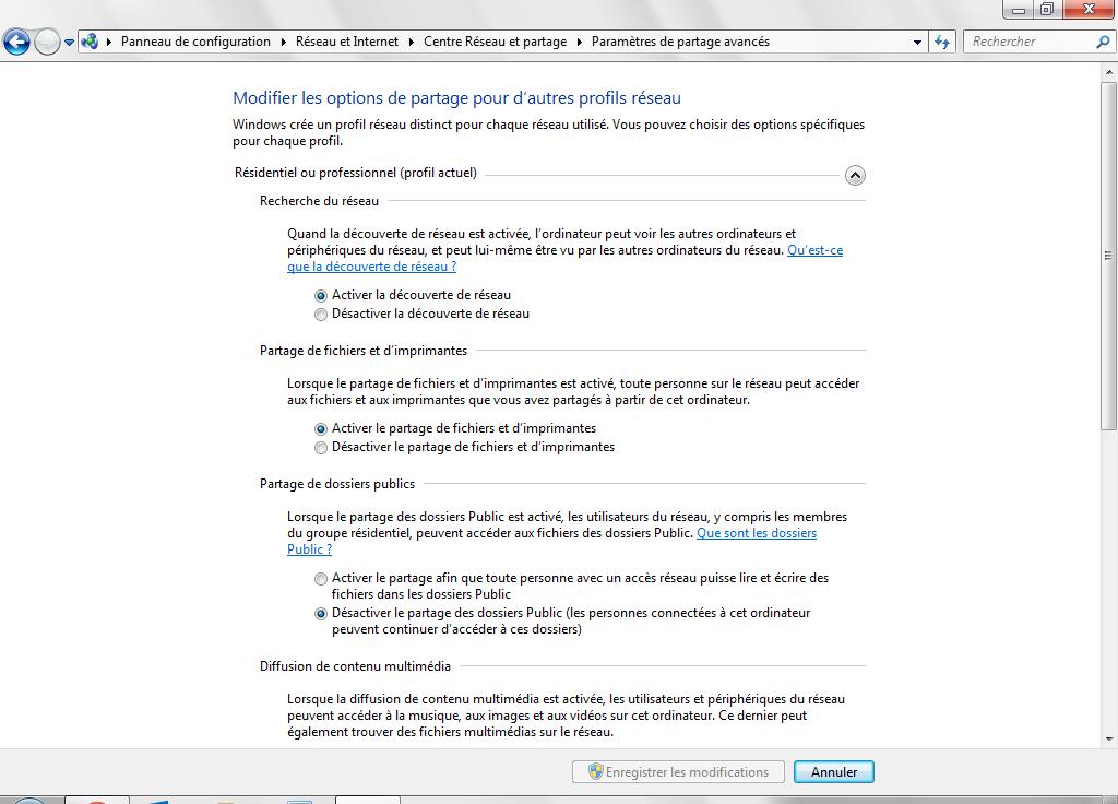Partage de fichiers Mac Windows activer partage