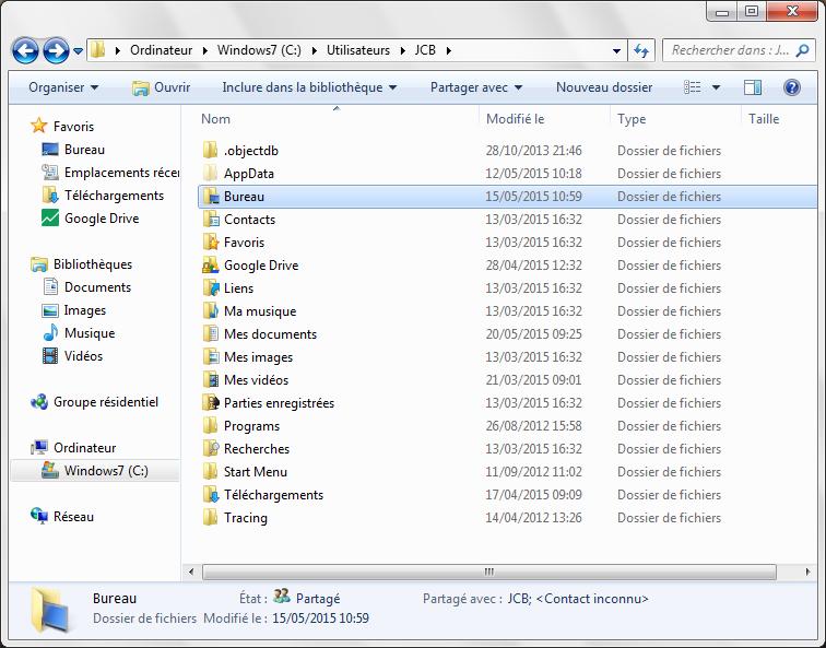 Partage de fichiers Mac choisir dossier a partager