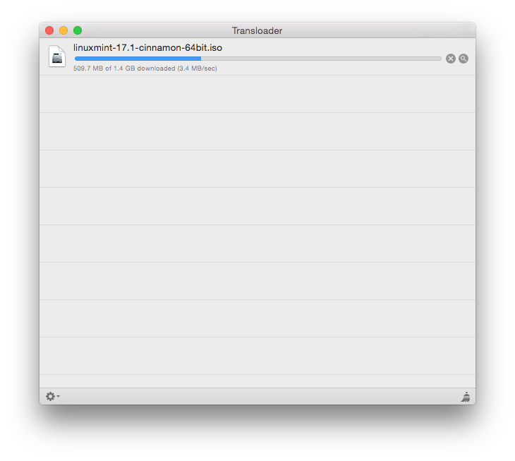 Transloader Mac fichiers en dl