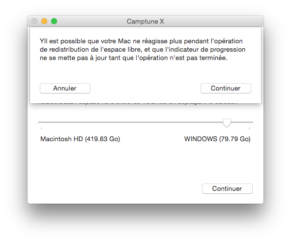partition mac modifier