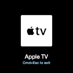 1keyboard apple tv icone