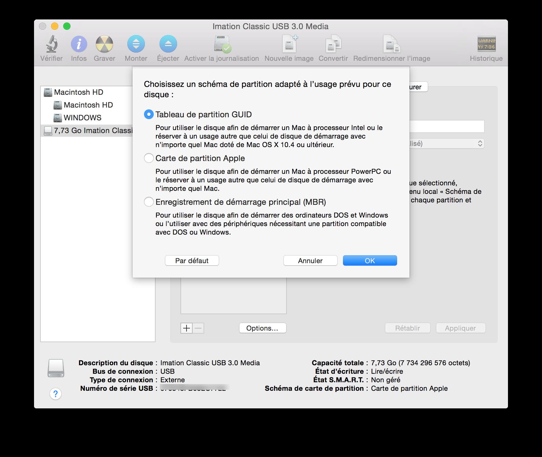 Guida Mac Installazione Hackintosh El Capitan 10 11: El Capitan (MAC OS X 10.11) : Créer Un Disque USB Bootable