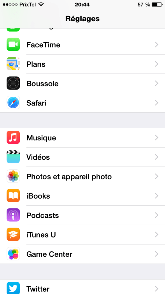 iPhone 6 60 FPS photos et appareil photo