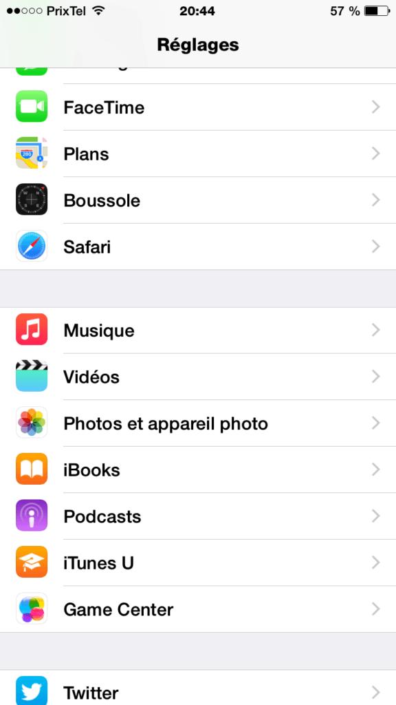 iPhone 6 60 FPS photos et appareil photo