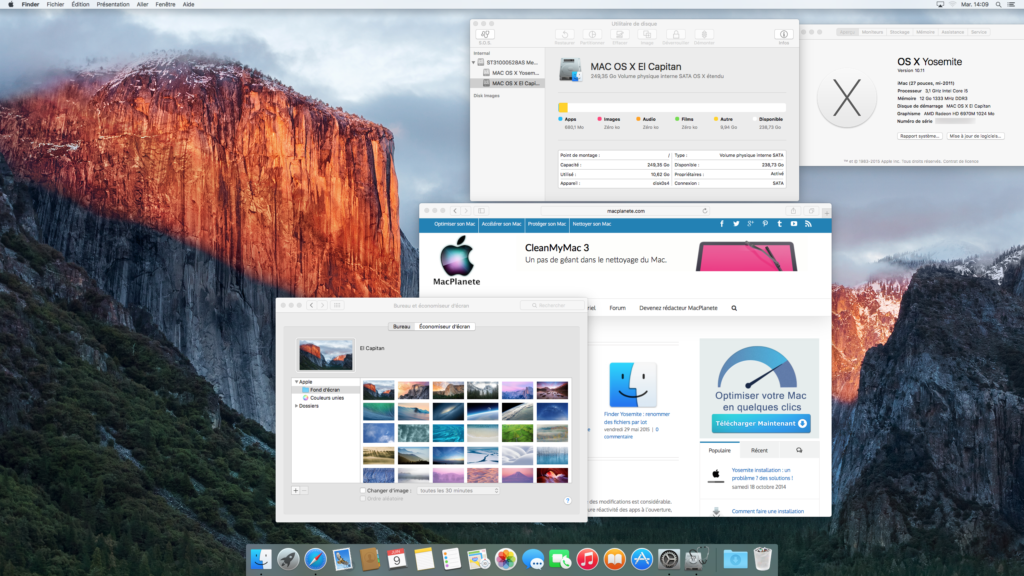 installer el capitan tutoriel