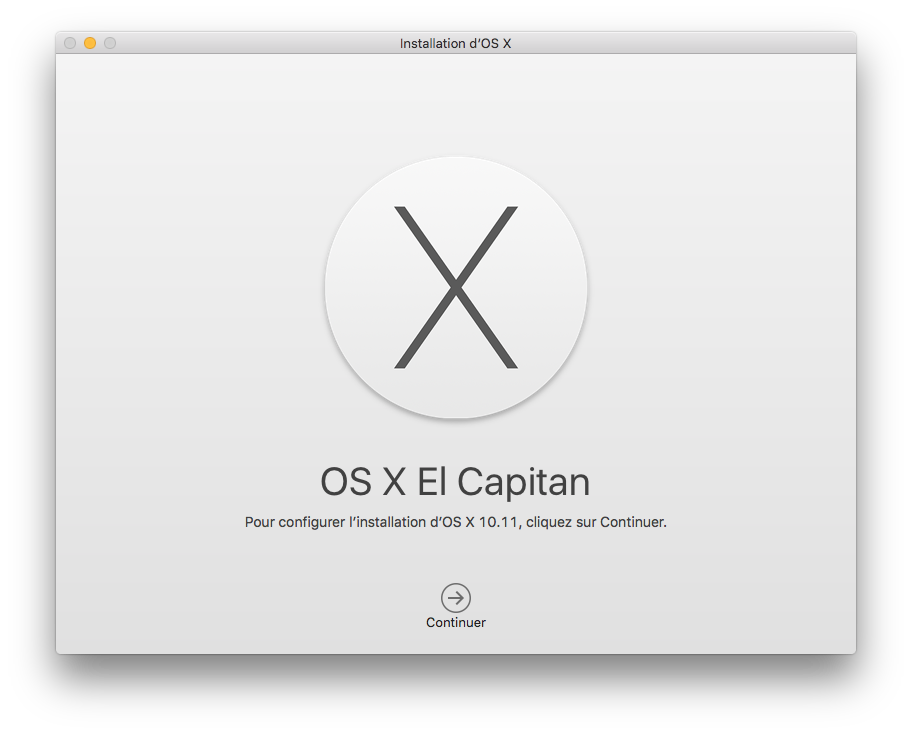 Dual boot El Capitan installer mac os x 10.11