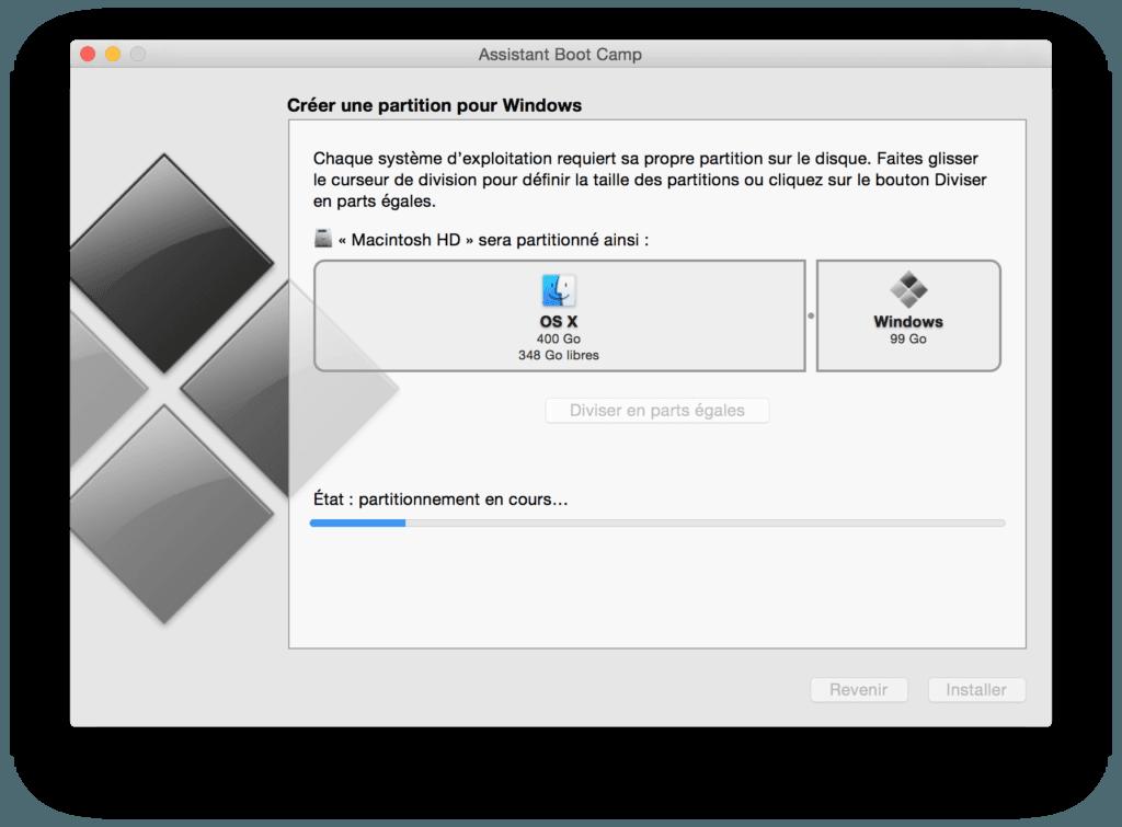 Dual boot El Capitan windows partitionner disque