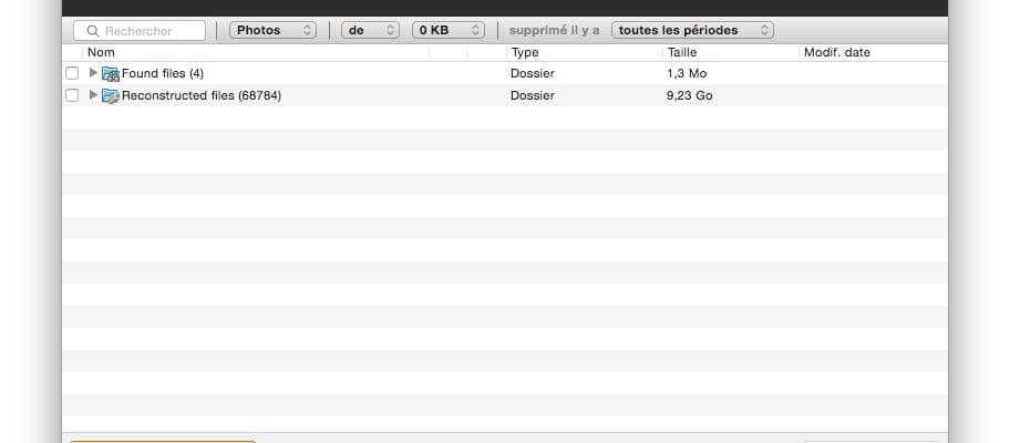 OS X El Capitan restaurer photo