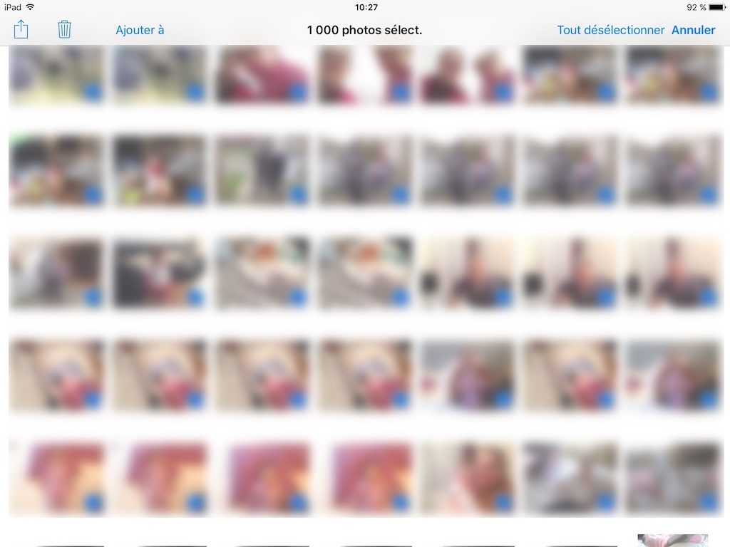 icloud supprimer flux photos