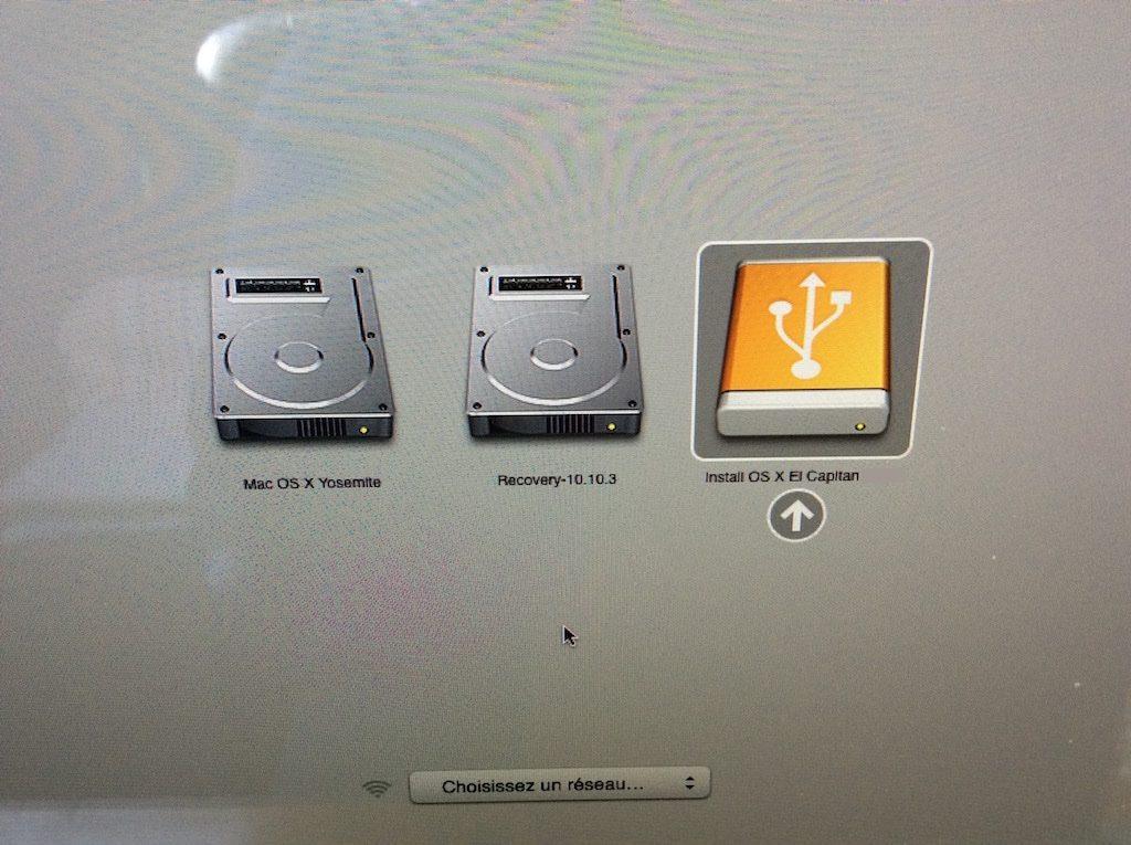 installer des fenêtres de usb mac