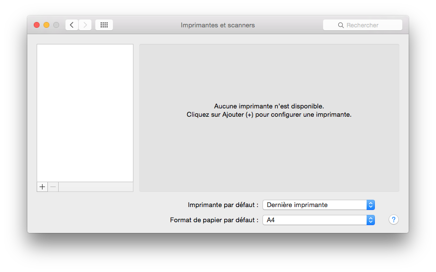 installer une imprimante sur mac airprint