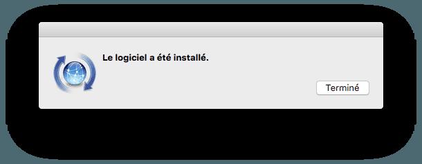installer xcode el capitan reussi