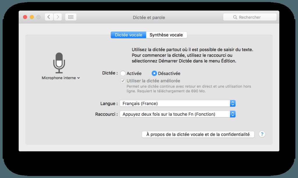 Activer-la-dictée-vocale-mac-bouton-activee