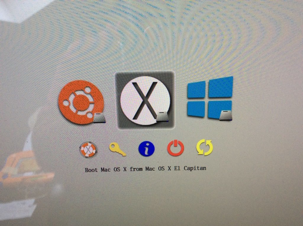 Triple boot El Capitan Windows 10 Ubuntu 15