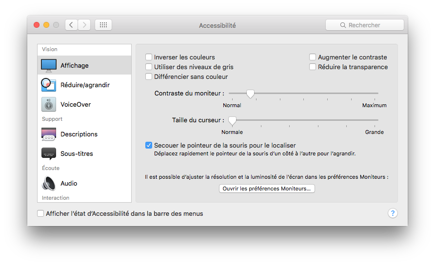 dark mode el capitan constrate