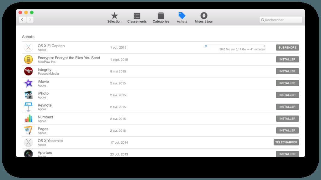 graver el capitan mac app store