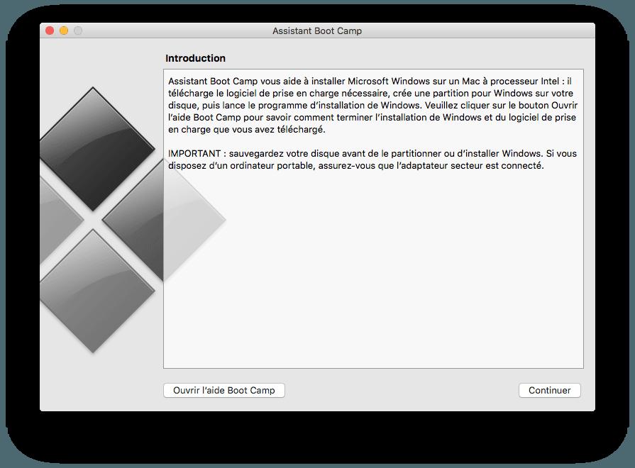 supprimer bootcamp proprement