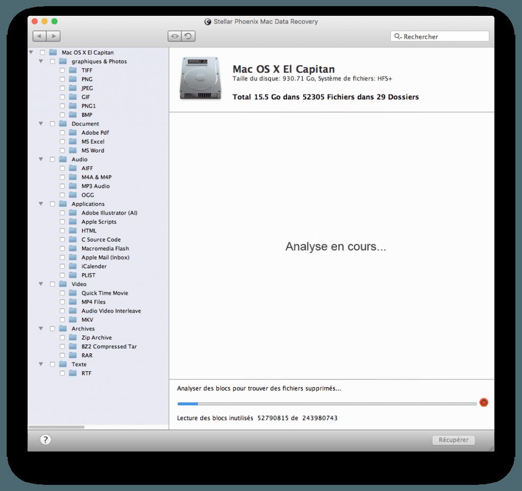restaurer un fichier efface sur Mac corbeille