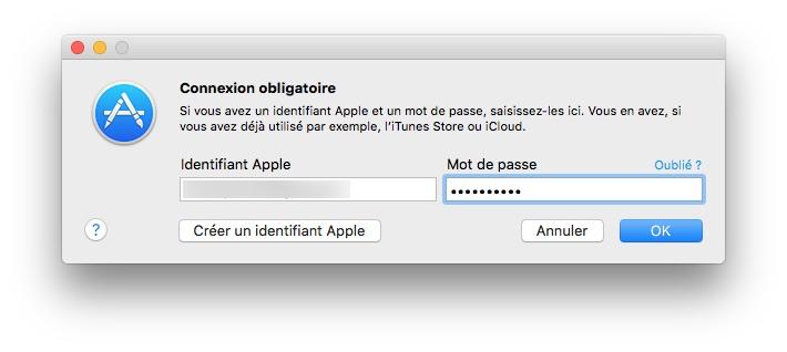 App Store sans mot de passe deverouiller