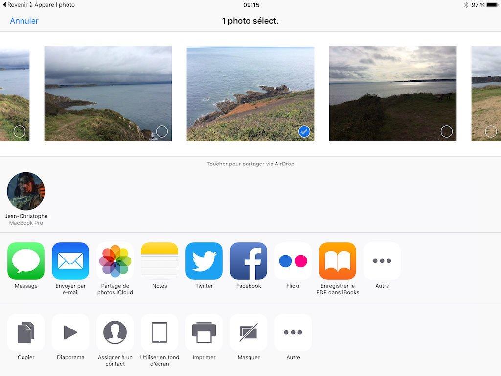 airdrop mac ipad photo