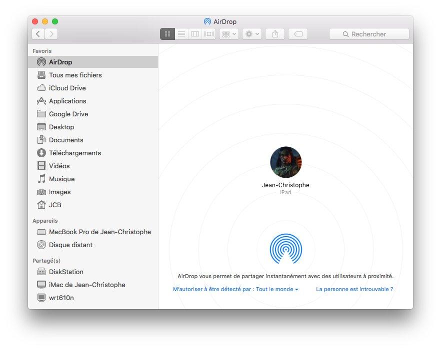 airdrop mac ipad