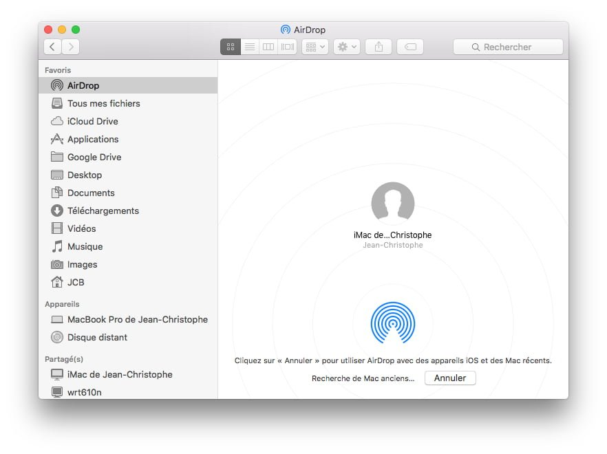 airdrop mac macbook