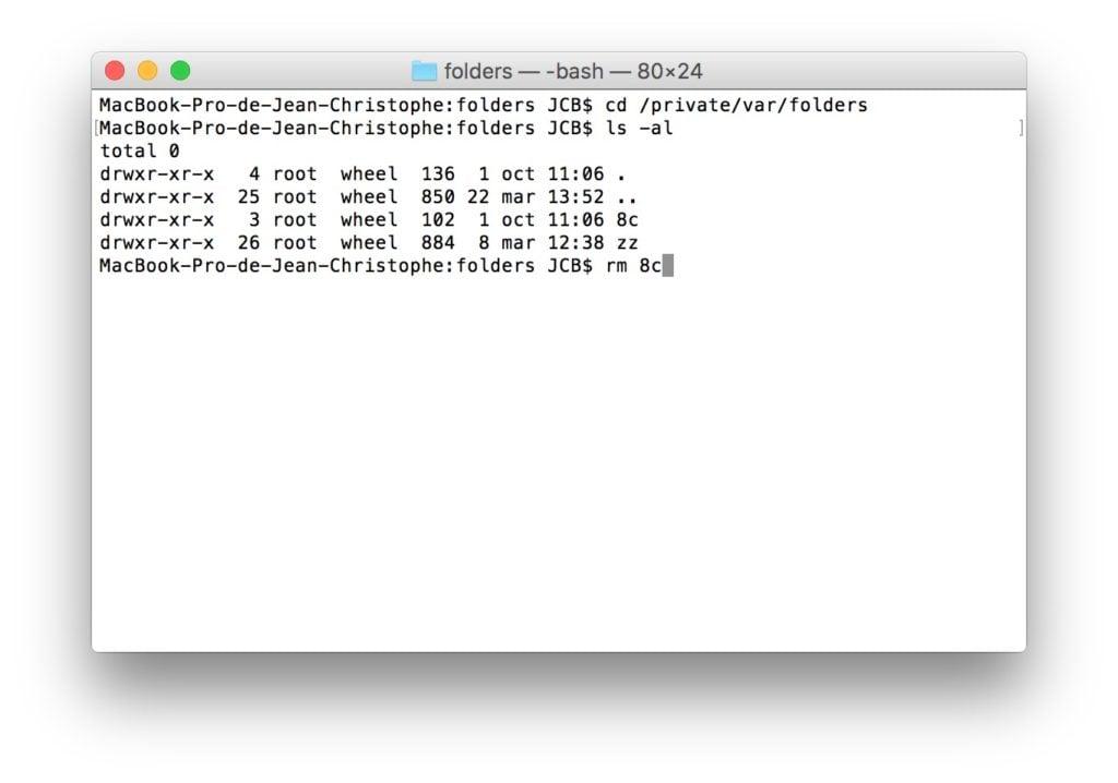 OS X El Capitan 10.11.4 problemes