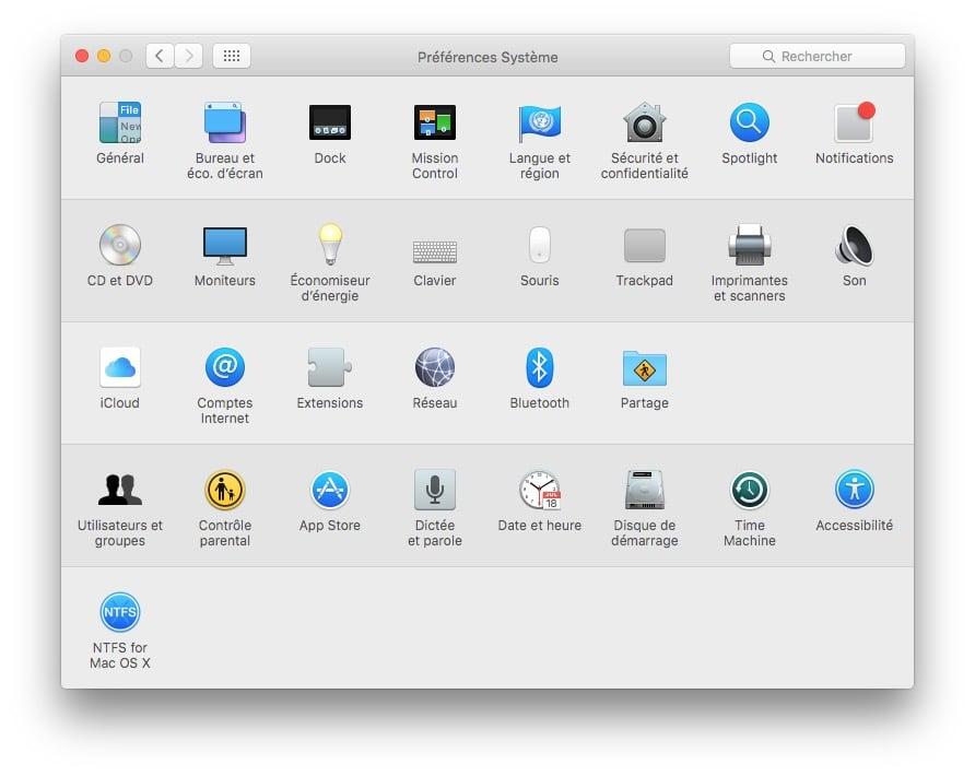ajouter un compte utilisateur mac preferences systeme