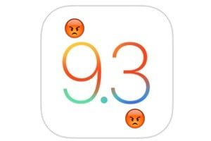 ios 9.3 problemes et solutions