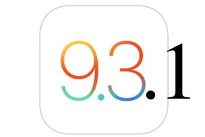 ios-9.3.1 maj disponible