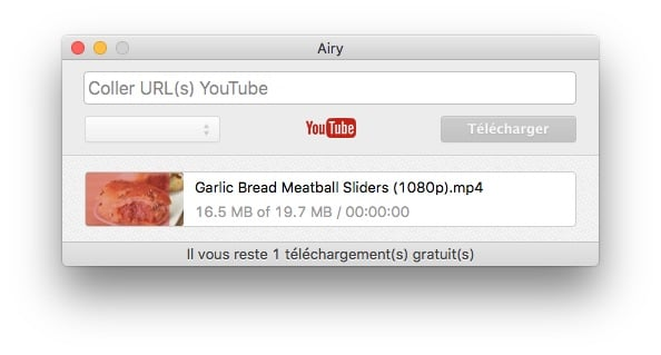 enregistrer youtube sur mac telecharger