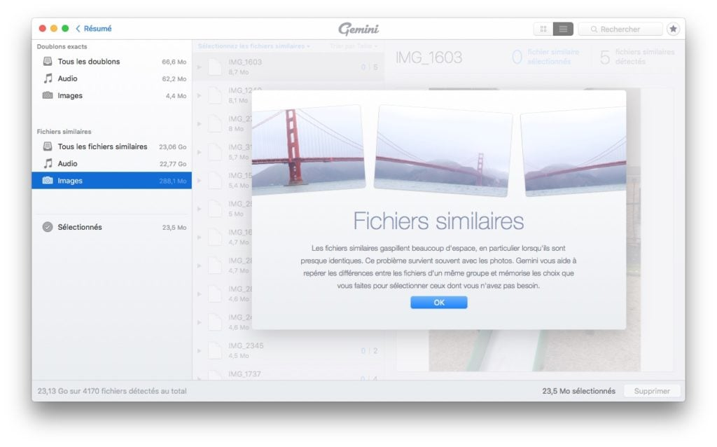 effacer les doublons sur mac fichiers similaires